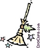 Vector Clip Art picture  of a broom