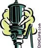 Vector Clip Art picture  of a work whistle