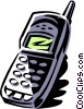 Vector Clipart illustration  of a portable/cellular phone