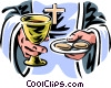 Communion Vector Clipart picture