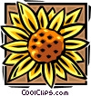 sunflower Vector Clip Art graphic