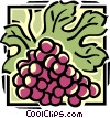 grapes Vector Clipart picture