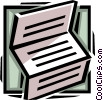 Vector Clipart graphic  of a document