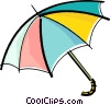 Vector Clip Art picture  of a umbrella
