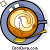 cup of coffee Vector Clipart graphic