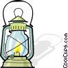oil lantern Vector Clip Art picture