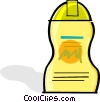 Vector Clipart graphic  of a liquid soap