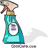 spray bottles Vector Clipart picture