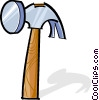 Vector Clip Art picture  of a hammer