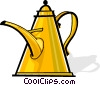 Vector Clipart picture  of a coffee pot/maker