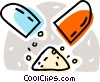 Vector Clipart illustration  of a pills