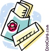 Vector Clip Art graphic  of a bandages