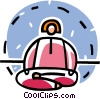 person meditating Vector Clip Art picture