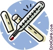 thermometer Vector Clip Art picture
