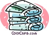 bath towels Vector Clip Art picture