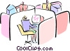 typical office Vector Clip Art image