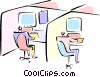 typical office Vector Clip Art picture