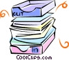 Vector Clip Art picture  of a in-out boxes