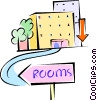 hotel Vector Clipart illustration