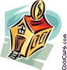 Vector Clip Art graphic  of a investing in property