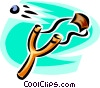 Vector Clipart graphic  of a slingshot