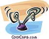 Vector Clipart graphic  of an antenna
