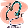 headset Vector Clipart image