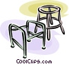 walkers Vector Clipart picture
