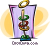 Vector Clipart illustration  of an arcade games