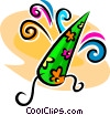 Vector Clip Art image  of a wizard hat