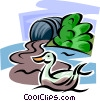 Vector Clipart image  of a Pollution