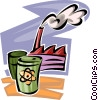 Pollution Vector Clipart picture