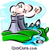 Vector Clip Art graphic  of a Responsibility