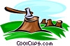 Forestry and Logging Vector Clip Art graphic