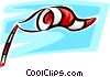 Windsocks Vector Clipart graphic