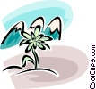 Vector Clip Art image  of a Flowers