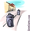 Garbage Waste Trash Vector Clip Art graphic