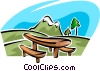 Mountains Vector Clipart illustration