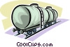 Rail Transport Vector Clip Art image