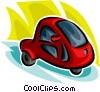 Cars of the Future Vector Clipart picture