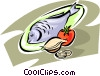 seafood/fish Vector Clip Art picture