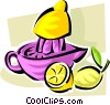 freshly squeezed lemonade Vector Clipart picture