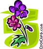 Vector Clip Art picture  of a flower