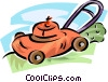 lawnmower Vector Clipart picture