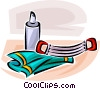 Vector Clipart illustration  of a exercise equipment