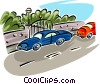 Vector Clipart picture  of an automobiles