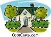 houses Vector Clip Art picture