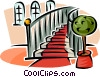 stairs Vector Clipart graphic