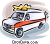 ambulance Vector Clipart graphic