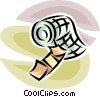 Vector Clip Art picture  of a bandages